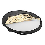80cm 5-in-1 Collapsible Round Flash Reflector Board Panel VFS-145538 for Camera