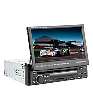 "7"" 1Din LCD Touch Screen Digital Panel Car DVD Player Support Ipod,Bluetooth,Stereo Radio,RDS,Touch Screen"