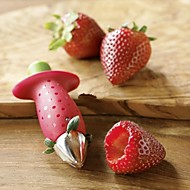 Strawberry Berry Stem Gem Leaves Huller Removal Fruit Corer Kitchen Tool