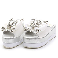 Women's Shoes Platform Platform / Creepers / Open Toe Slippers Casual Pink / White