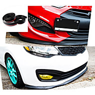 Newest 2.5M/ Roll Car styling Multi deflector Universal Front LIP Bumper Spoiler Exterior Auto Accessories