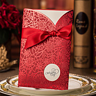 Personalized Wrap & Pocket Wedding Invitations Engagement Party Cards / Invitation Cards-50 Piece/Set Modern Style Hard Card Paper