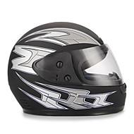 Black Full Face Road Helmet Flip Up Sun Shield For Motorcycle Motocross Bike
