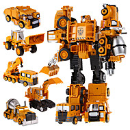 5 in 1 Super Hero Toys Transformation Robots Action Cars Robot Plastic Kids Toys For Boys