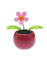 Solar Powered Flip Flap Flower Plant