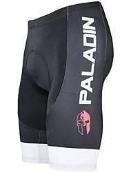 PALADIN Bike/Cycling Padded Shorts / Shorts / Bottoms Men's Breathable / Ultraviolet Resistant / 3D Pad Polyester / LYCRA® Solid BlackS /