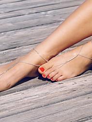 Fashion Summer Beach Simple Barefoot Sandals(1pc)