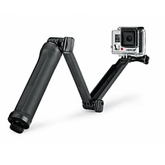 Super Multi-function 3-way Mount Monopod Tripod Grip for GoPro Hero5 GoPro Hero4 /Hero3 + /3 /SJ 5000/4000