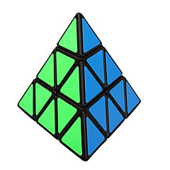 Shengshou® Smooth Speed Cube 3*3*3 Speed / Professional Level Magic Cube Black PVC