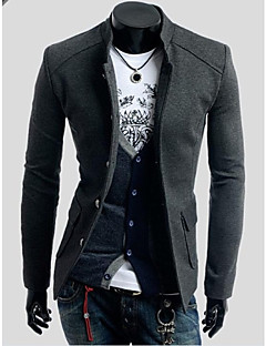 Men's Solid Collar Slim Fit Casual Long Sleeve Small Blazer