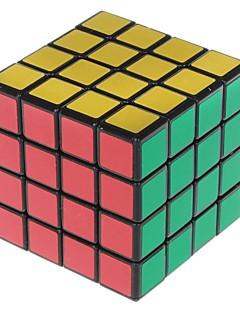 Shengshou® Magic Cube 4*4*4 Speed / Professional Level Smooth Speed Cube Black PVC Toys