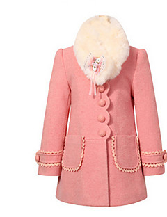 Girls' Jacket & Coat,Cotton Winter Long Sleeve