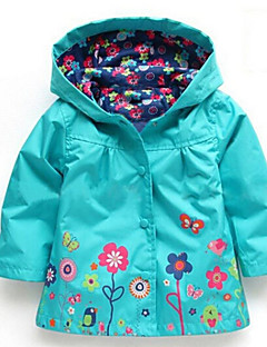 Girl's Down & Cotton Padded,Cotton Winter Green / Pink / Purple