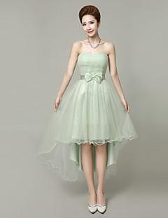 2d0e1c2ad310 Κοντό   Μίνι Στράπλες Φόρεμα Παρανύμφων - Mix   Match Σετ Κοντό Κομψό  Κούμπωμα με κορδόνι